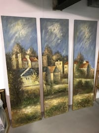 Tuscan 3-Panel Painting Annandale