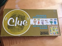 """Vintage 1963 Parker Brothers """"Clue"""" Detective Game Toronto, M5A 1S7"""