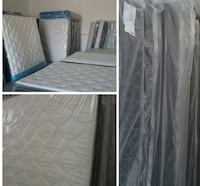 King Mattress, Box and Heavy Duty Frame Las Vegas