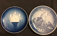 1972 & 1976 Olympic collector plates Toronto, M2J 2C4
