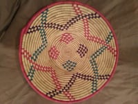 "colorful weaved basket 13"" round nice Andover, 55304"
