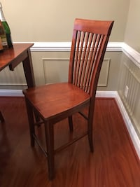 Wood Bar Height Table and Chairs Hampton, 23666