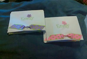 """Personalized handmade note paper """"Emily"""""""