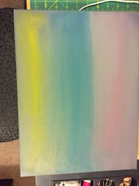 """Color Haze""abstract painting"