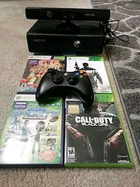 Xbox 360 console with controller and game cases San Ramon, 94583