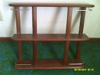 Beautiful wood knick knack shelf  DAVENPORT