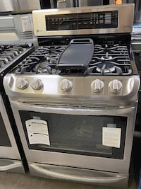NEW LG Gas Range W/5 Burners+Convection Oven*FINANCE AVAILABLE