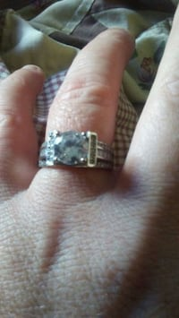 silver-colored diamond ring Monmouth, 97361