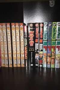 Manga (One Piece, Naruto, Attack on Titan, and more)