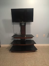 black flat screen TV with stand Lynchburg