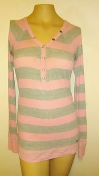 Pink by VS shirt, pink and gray striped, size smal Killeen, 76541