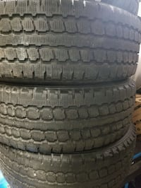 Four great condition winter rims and tires  Toronto, M6N 5G8