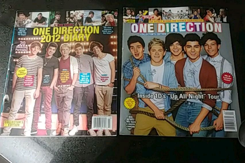 Photo One Direction Collector Magazines