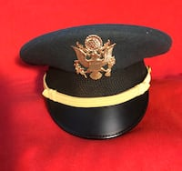 US Army Officer's Visor Hat Spring Hill, 34606