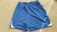 blue and white Nike shorts 23 km