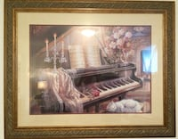 brown wooden framed painting of house Châteauguay, J6J