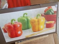 ~BRAND NEW~ Pier1 imports kitchen canisters each holds 20 oz .. La Vista, 68128