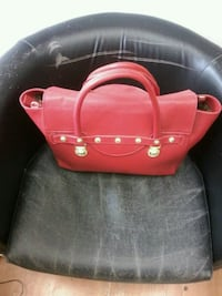 red leather 2-way bag London, EC2V