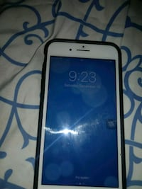 white Android smartphone with black case 46 mi