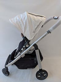 uppababy cruz 2017 stroller loic white FIRM PRICE Glendale