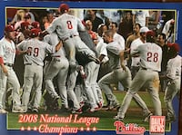 Philadelphia Phillies 2008 National League Champions Newspaper Insert Lebanon