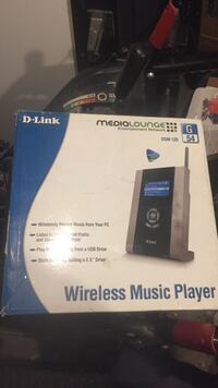 D-Link medialounge wireless music player box Toronto, M6E 4E3