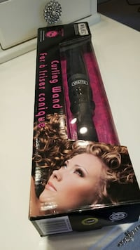IN BOX Curling iron wand 410°professional! Burnaby, V5A 4A5