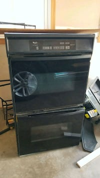 black and gray induction range oven Bristow, 20136