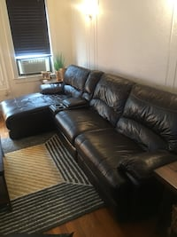 Leather Couch , 11103