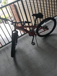 red and black full-suspension bike Winchester, 22601