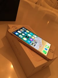 Iphone 6s rosè 64 GB 6250 km
