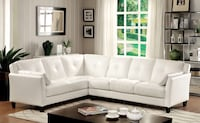 NEW White L-Shaped Sectional Sofa  Charlotte, 28216
