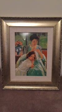 """Master's collection reproduction frame approximately 21"""" x 25"""" Lincolnton, 28092"""