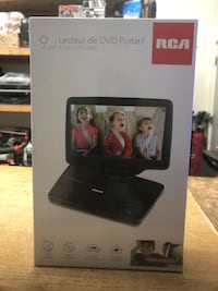 RCA 9 Portable DVD Player , LCD   Power Adapter - Black (DRC98091S) .. Baltimore, 21216