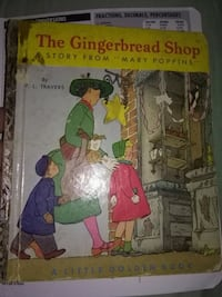 The gingerbread shop children's book 1952