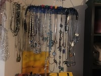 Assorted silver-colored necklaces Calgary, T2Y 2T4