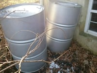 Containers fifty five thirty and twenty gallons Fallston, 21047