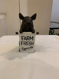 Adorable Pig With Sandwich Board Sign Markham, L3T 3L5