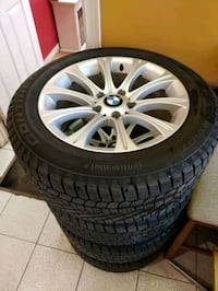 BMW rims on Continental Extreme Winter Contact Tires (235 / 55 / R17)