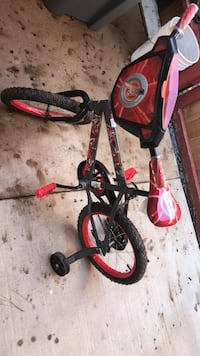 Toddler's black and red bicycle Houston, 77064