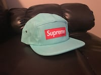 Mint green SUPREME hat   59 km
