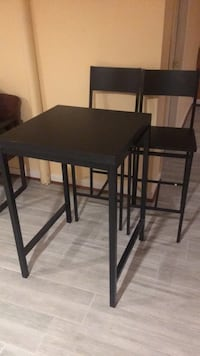 two black wooden bar stools Alexandria, 22303