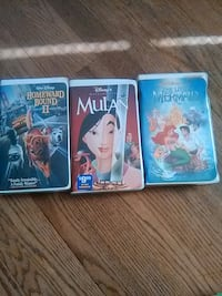 Disney  Vhs movies  Arbutus, 21227