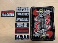 Biker patches