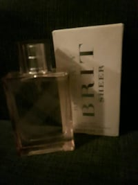 Brit Sheer perfume bottle with box