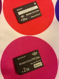 Sony PSP Memory cards/ Sony PSP Memory Stick / Magic gate 32 MB and 2 GB size to chose from / welcome to visit Alexandria, 22311