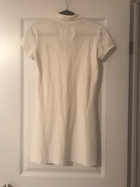 DREAM CLOSET - Off White Abercrombie and Fitch Polo Dress - L Kitchener, N2H 0G5