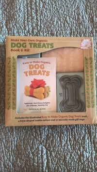 MAKE YOUR OWN ORGANTIC DOG TREATS BOOK & KIT Rocky Point, 28457