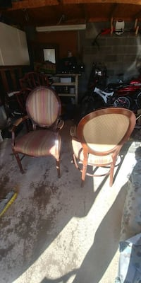 3 LOUISE STYLE CHAIRS MUST GO TODAY