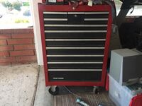red and black Craftsman tool chest Thousand Oaks, 91320